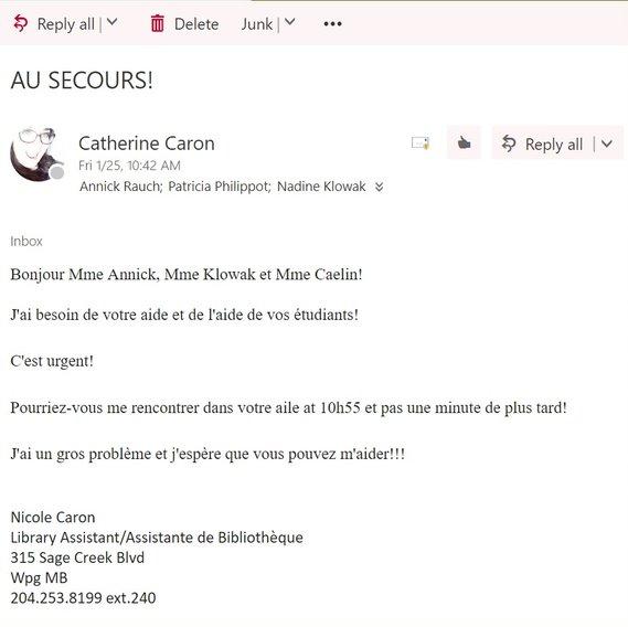 Nicole e-mail