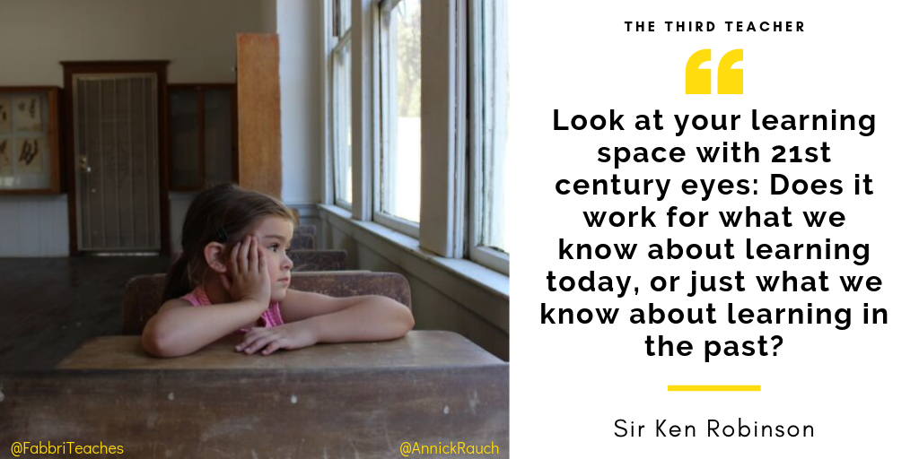 Look at your learning space with 21st century eyes_ Does it work for what we know about learning today, or just what we know about learning in the past_ (1)